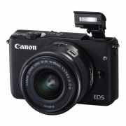 Canon EOS M10 Zwart + 15-45mm IS STM
